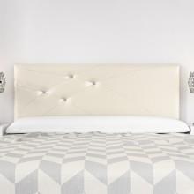Cabecero Mod. Lois Swarovski 180 cm Marfil