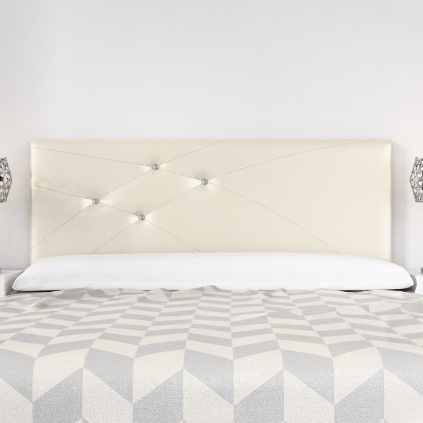 Cabecero mod lois swarovski 180 cm marfil zipzap online s l sleepens - Colchones sleepens ...