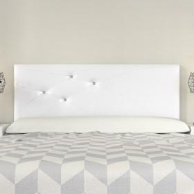 Headboard Mod. Lois Swarovski 150 cm White