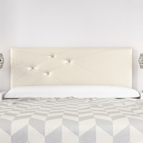 Cabecero Mod. Lois Swarovski 150 cm Marfil