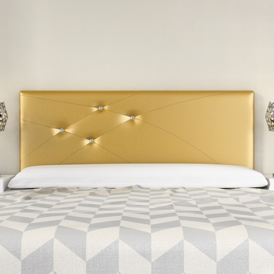 Headboard Mod. Lois Swarovski 135 cm Gold