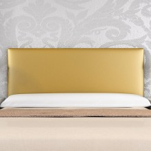 Headboard Mod. Basic 135 cm Gold