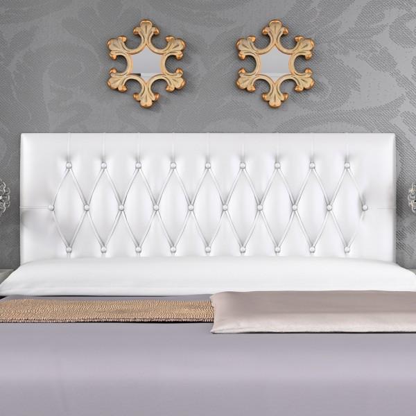 Cabecero mod capitol 135 cm blanco sleepens for Cabecero blanco 135