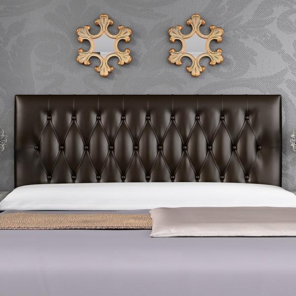 Cabecero mod capitol 150 cm chocolate zipzap online s l sleepens - Colchones sleepens ...